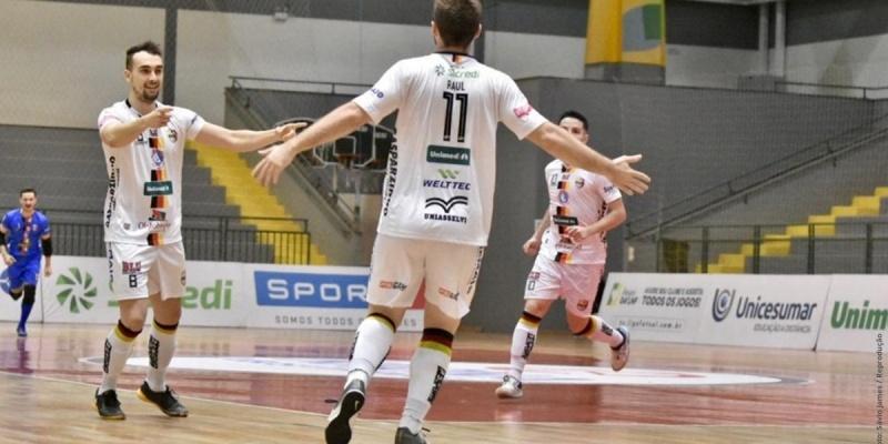 Blumenau Futsal reverte punição imposta pela LNF e jogará em casa nesta sexta-feira (23)