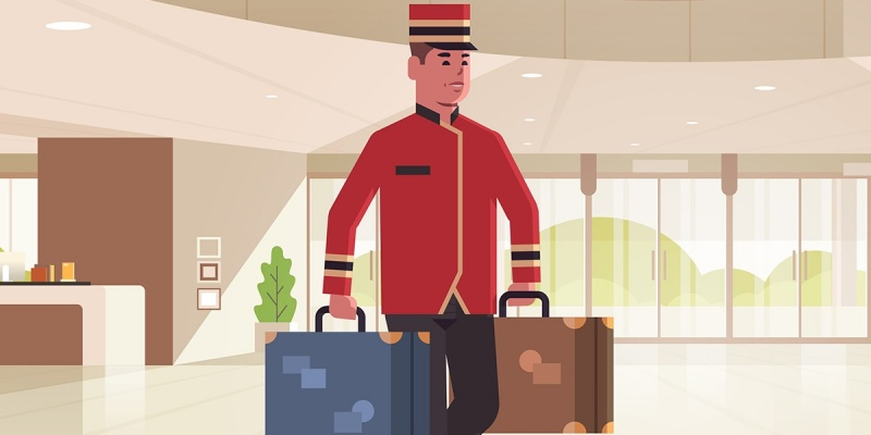 Justiça condena mensageiro de hotel a pagar multa por simular acidente de trabalho