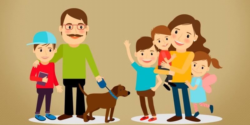 Você sabia que, filhos de relacionamentos distintos podem receber pensões diferentes